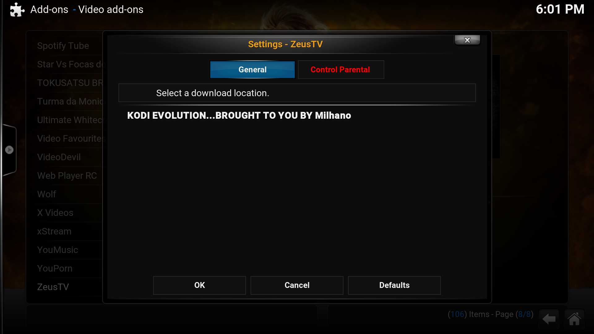How to install Zeus Kodi addon | Kodiapps