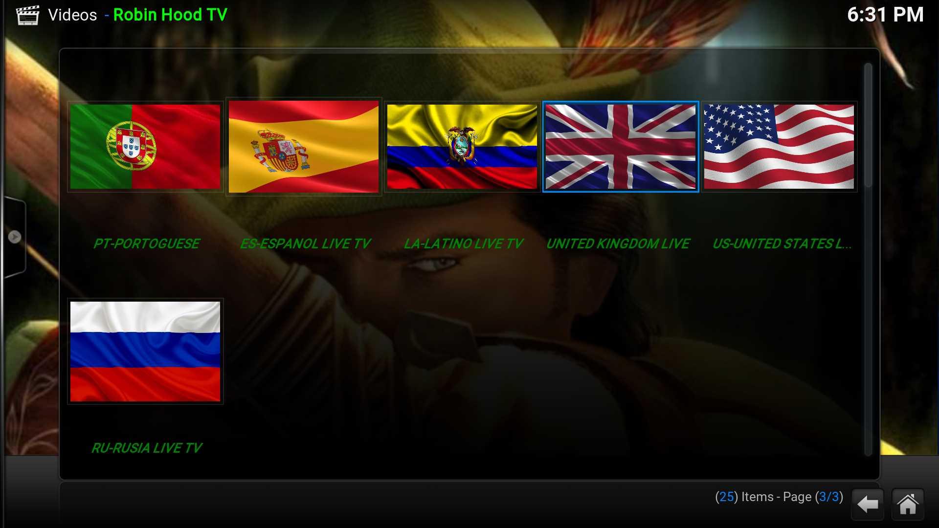 How to install Robin Hood Tv Kodi addon | Kodiapps
